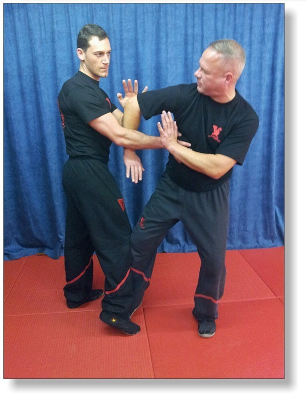 DRAGOS WING TSUN LEAGUE - Instructors training hard, always