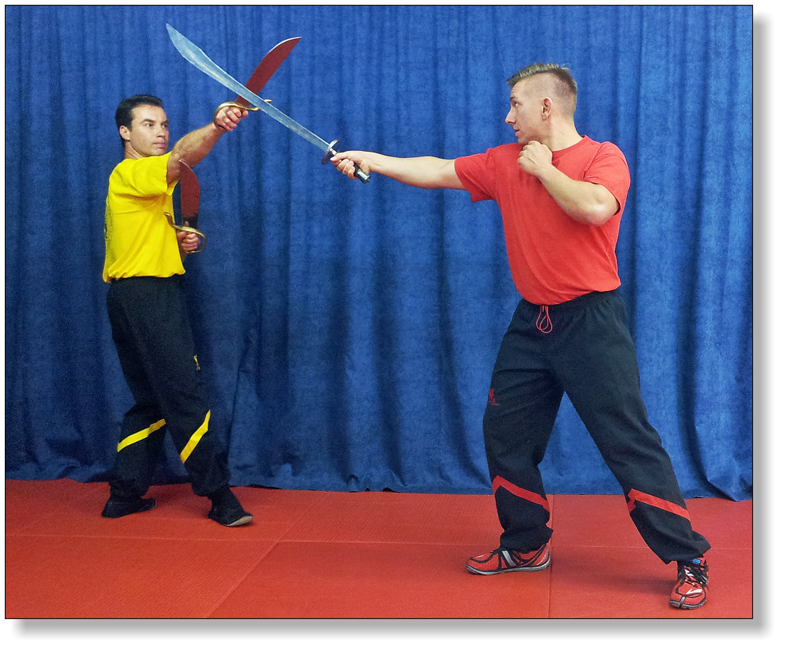 Bat Cham Dao (Twin or Double Knives) - Most advanced techniques of Wing Tsun