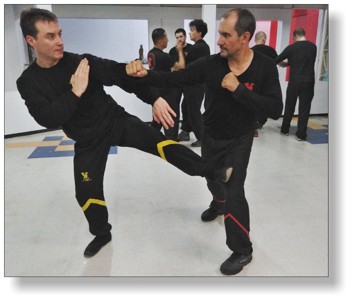 The name says it all. Intensive week of training! In the picture: Dai-Sifu Martin Dragos with Sifu Delson Carlos - Dragos WingTsun