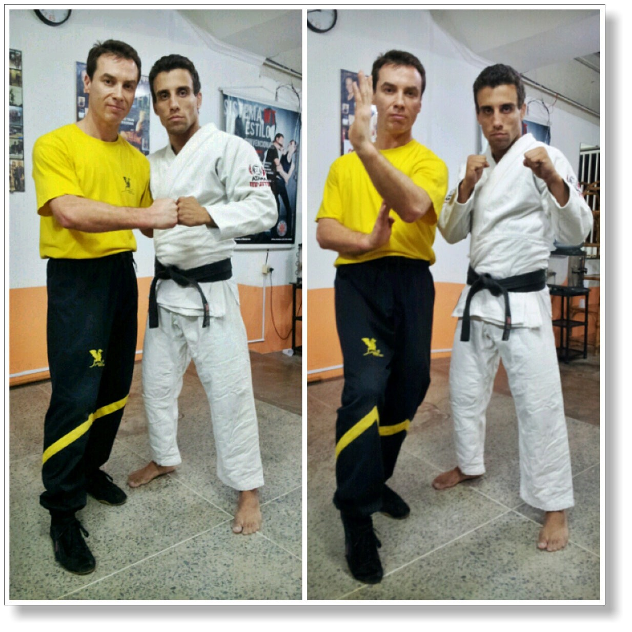 Find the martial art and the teacher who really suits you! Wing Tsun and Brazilian Jiu-Jitsu