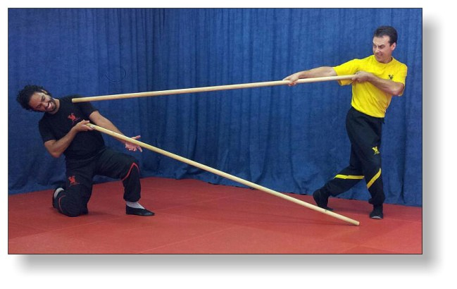 Lok Dim Boon Kwan - Training with the Long Pole of Wing Tsun