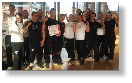 Guest Seminar at Ingolstadt with Sifu Marc Müller