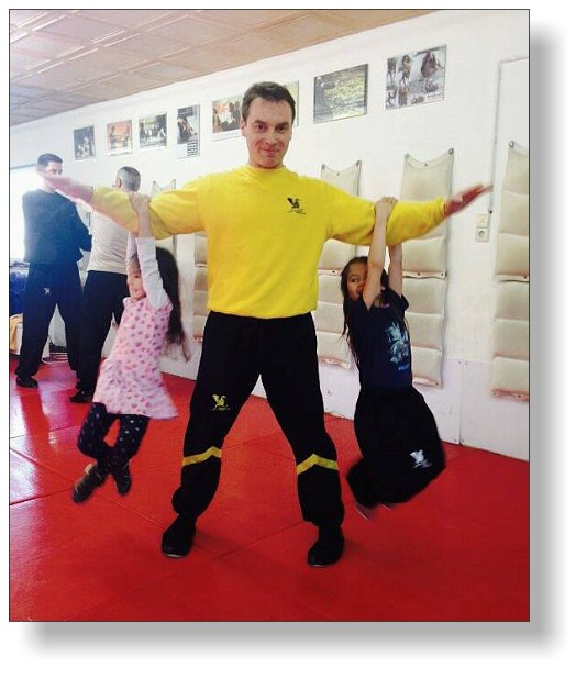 Training with Children - WingTsun