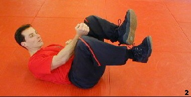 Wing Tsun Exercise 79 - Chain Kicks, Fig. 2